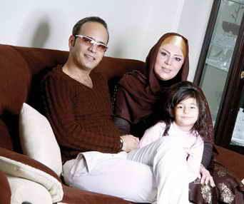 شهرام شکوهی و خانواده