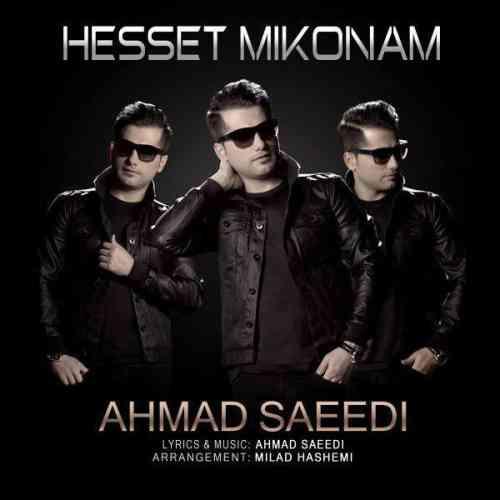 دانلود آهنگ جدید احمد سعیدی به نام حست میکنم ، آهنگ حست میکنم با صدای احمد سعیدی + متن آهنگ حست میکنم از احمد سعیدی