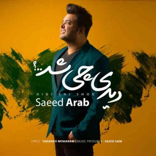 دانلود آهنگ جدید سعید عرب به نام دیدی چی شد عکس جدید سعید عرب عکس ها و موزیک های جدید سعید عرب