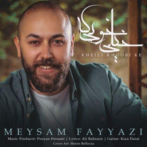 دانلود آهنگ جدید میثم فیاضی به نام خیلی خوبه که عکس جدید میثم فیاضی عکس ها و موزیک های جدید میثم فیاضی