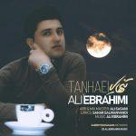 دانلود آهنگ جدید علی ابراهیمی به نام تنهایی
